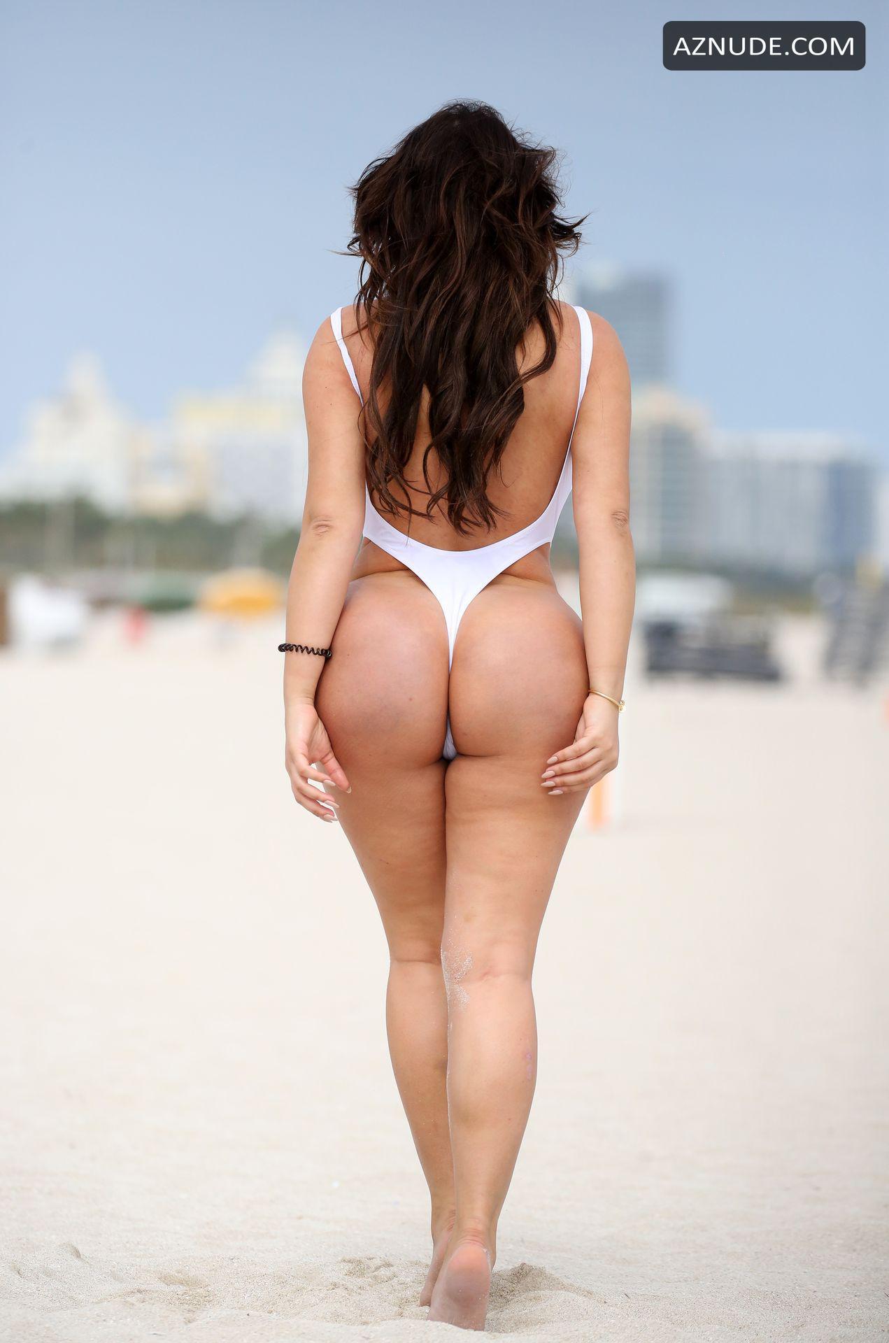 Anastasia Kvitko Nude anastasia kvitko sexy in a high cut white swimsuit on the