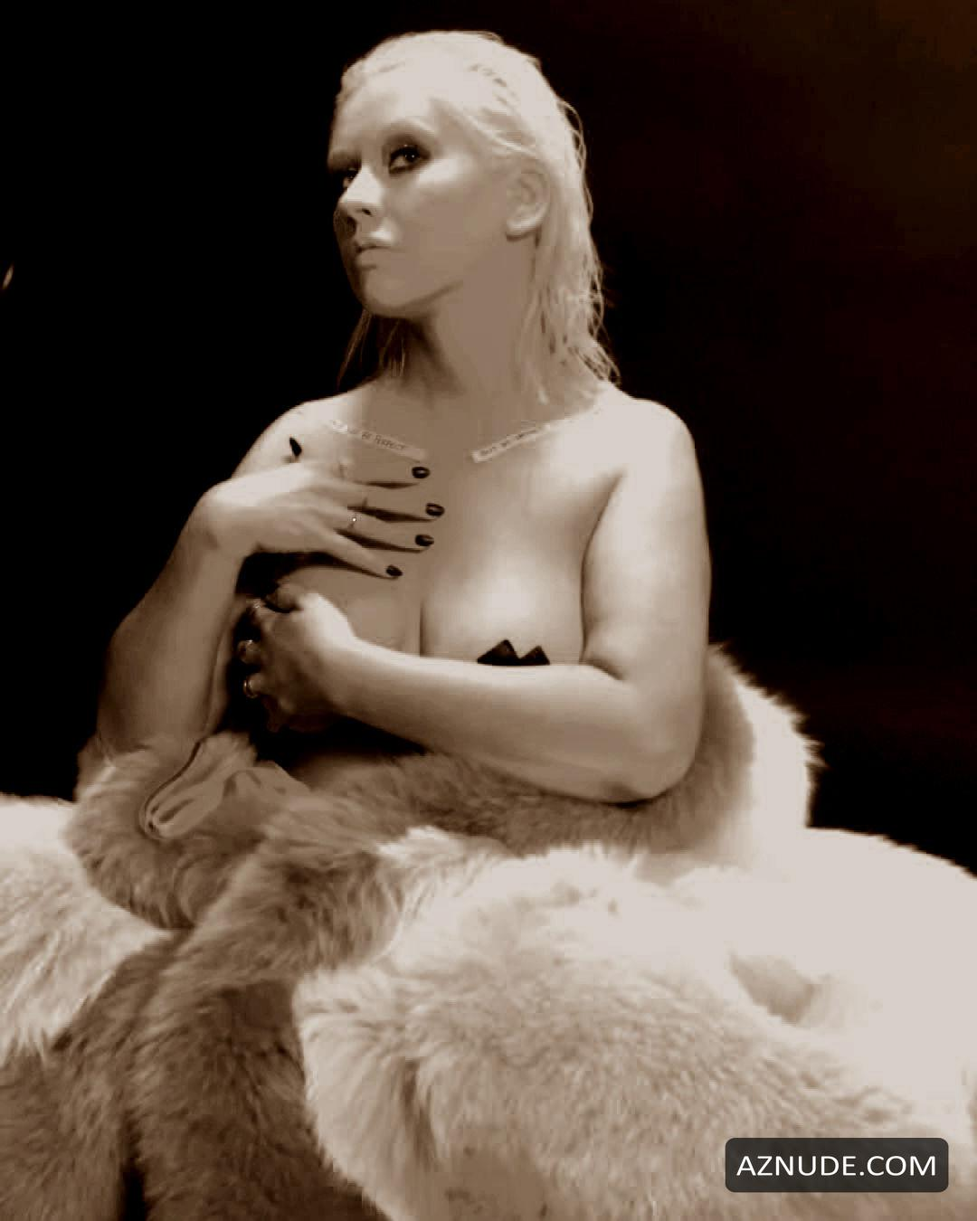 Ideal Christina Aguilera Naked Ass Png
