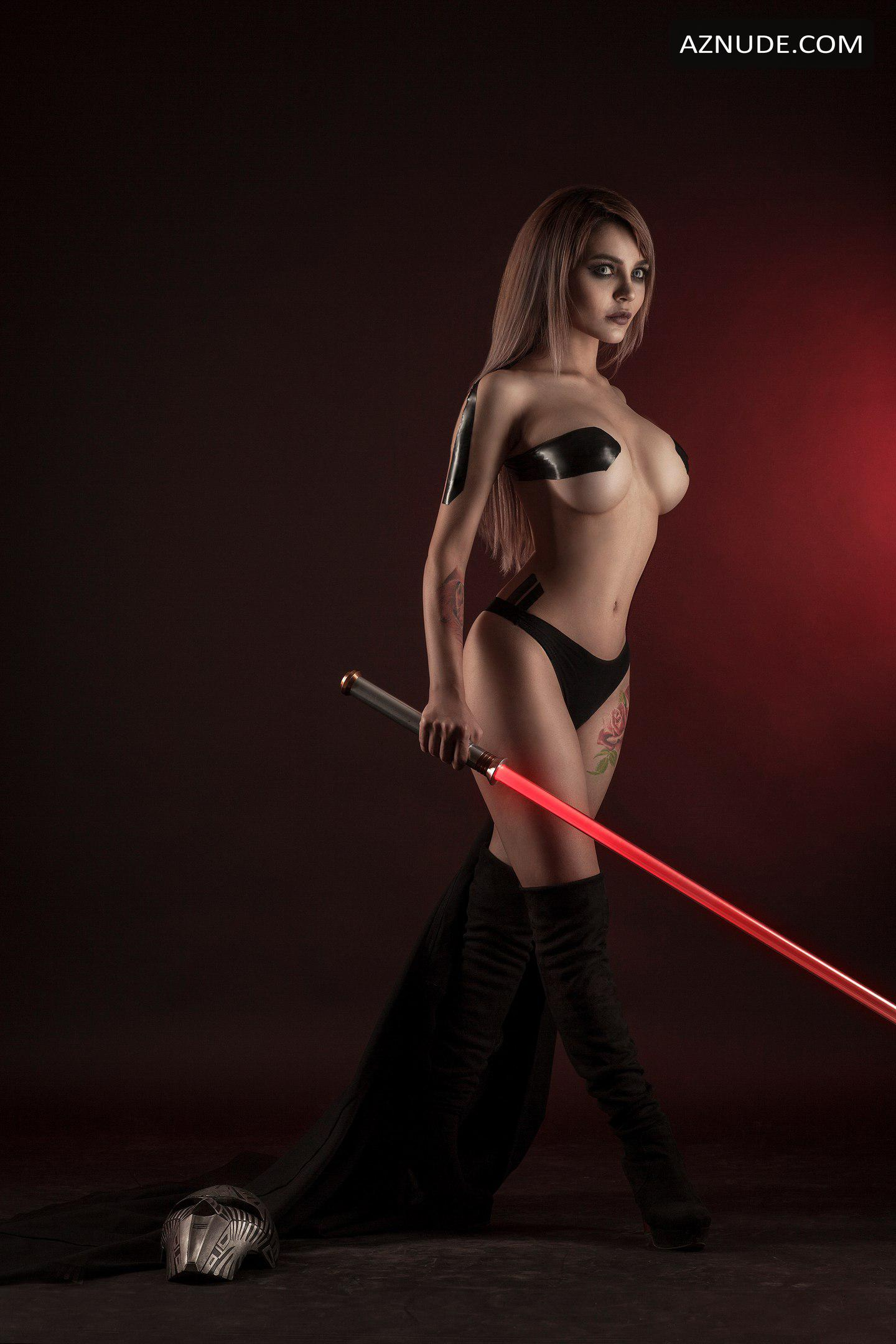 Sex Star Wars Naked Cosplay Pic