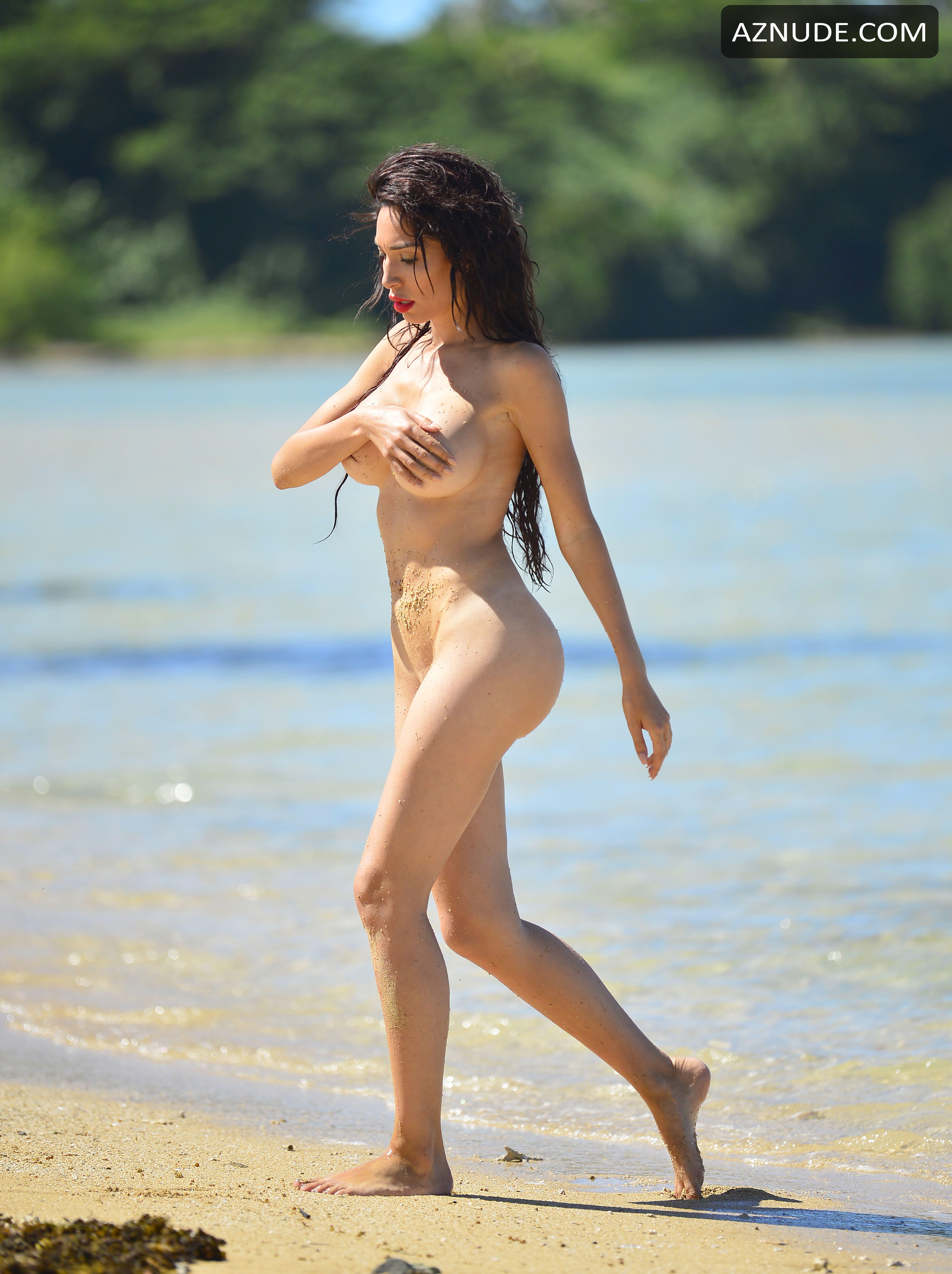 Farrah Abraham Nude During A Raunchy Beach Photoshoot In -4289