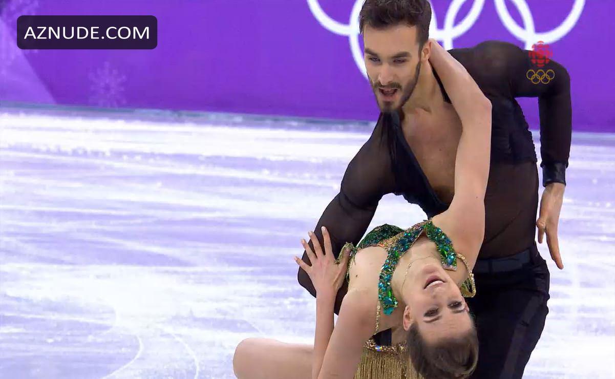 Gabriella nackt Papadakis Winter Olympics: