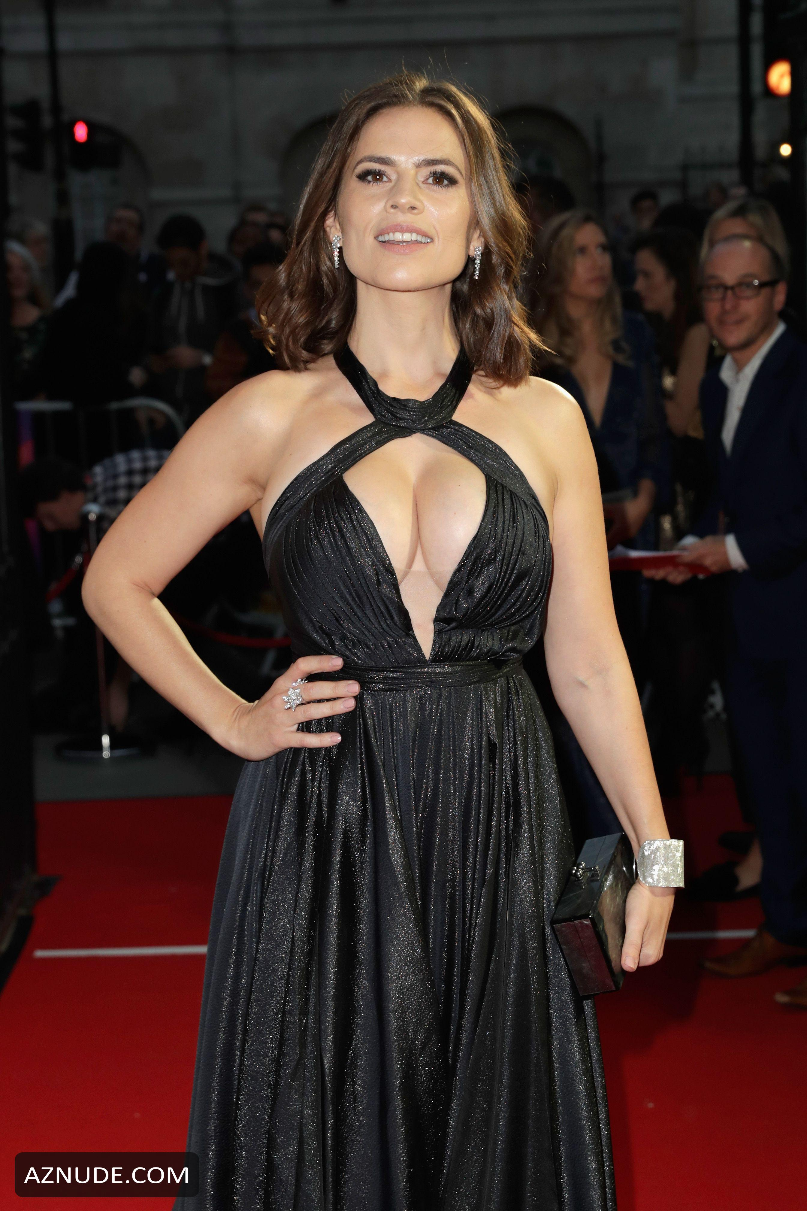 Hayley Atwell Sexy At The 61St Bfi London Film Festival In -9362