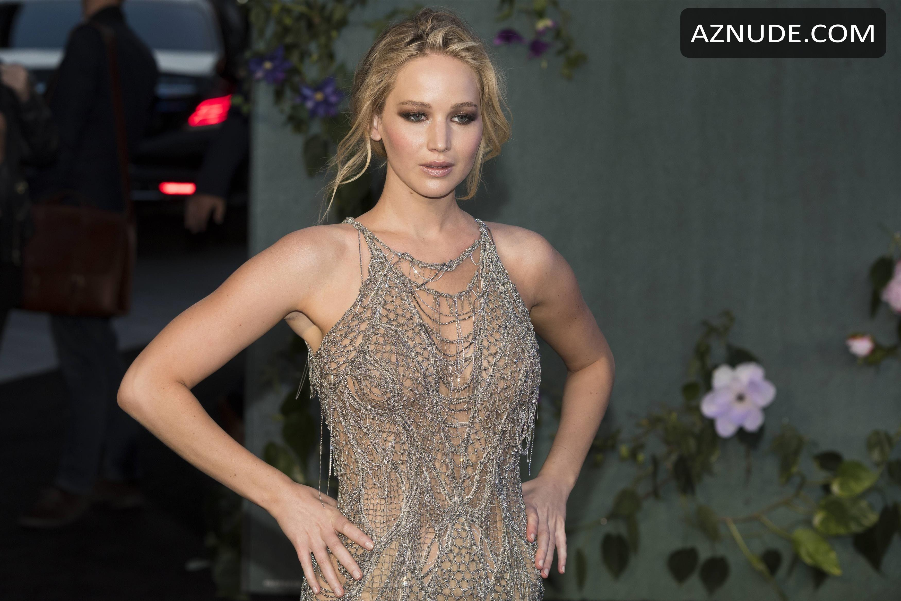 Jennifer Lawrence Sexy At Mother Uk Premiere At Odeon -6949
