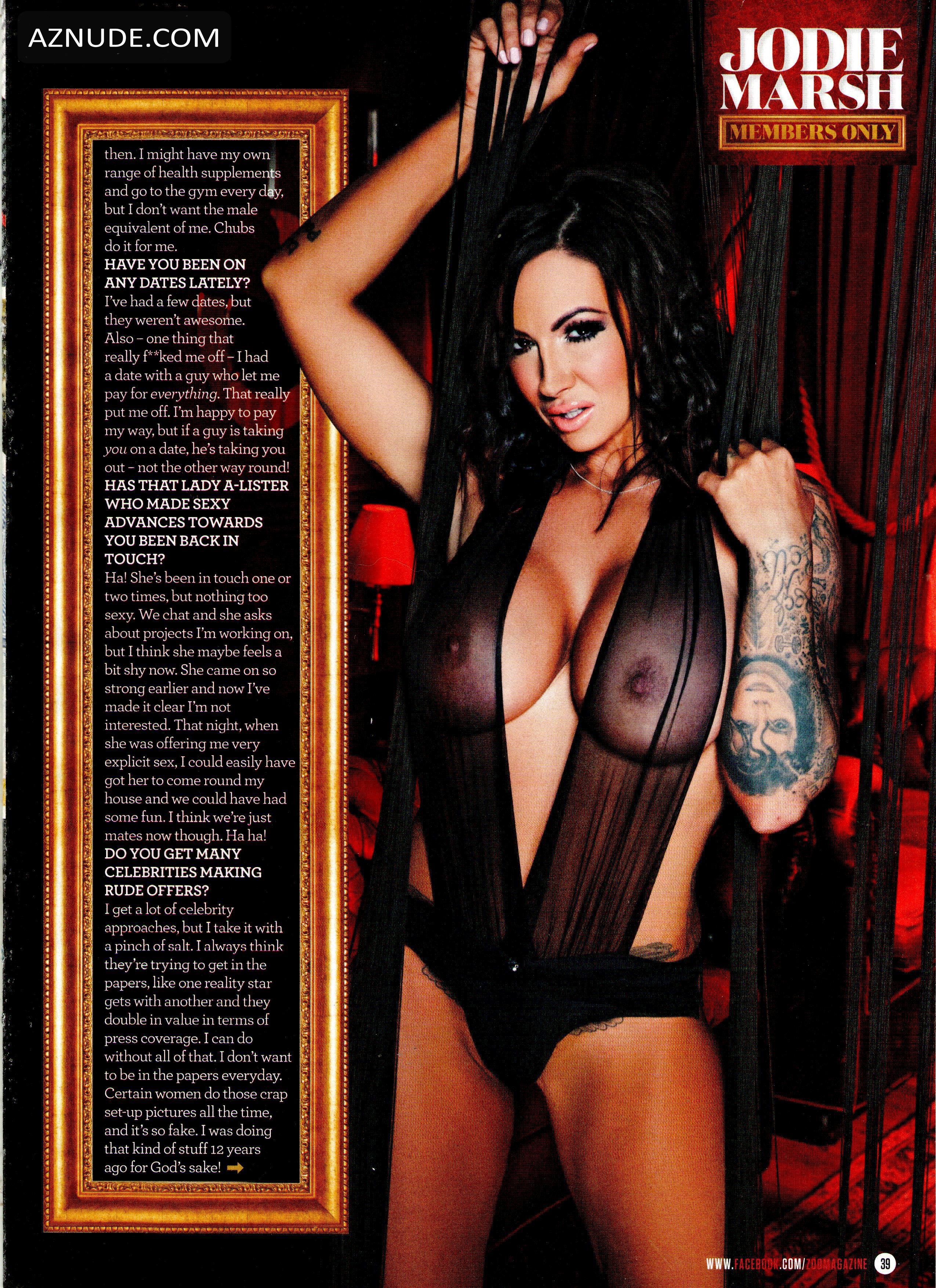 Jodie Marsh Topless Pics