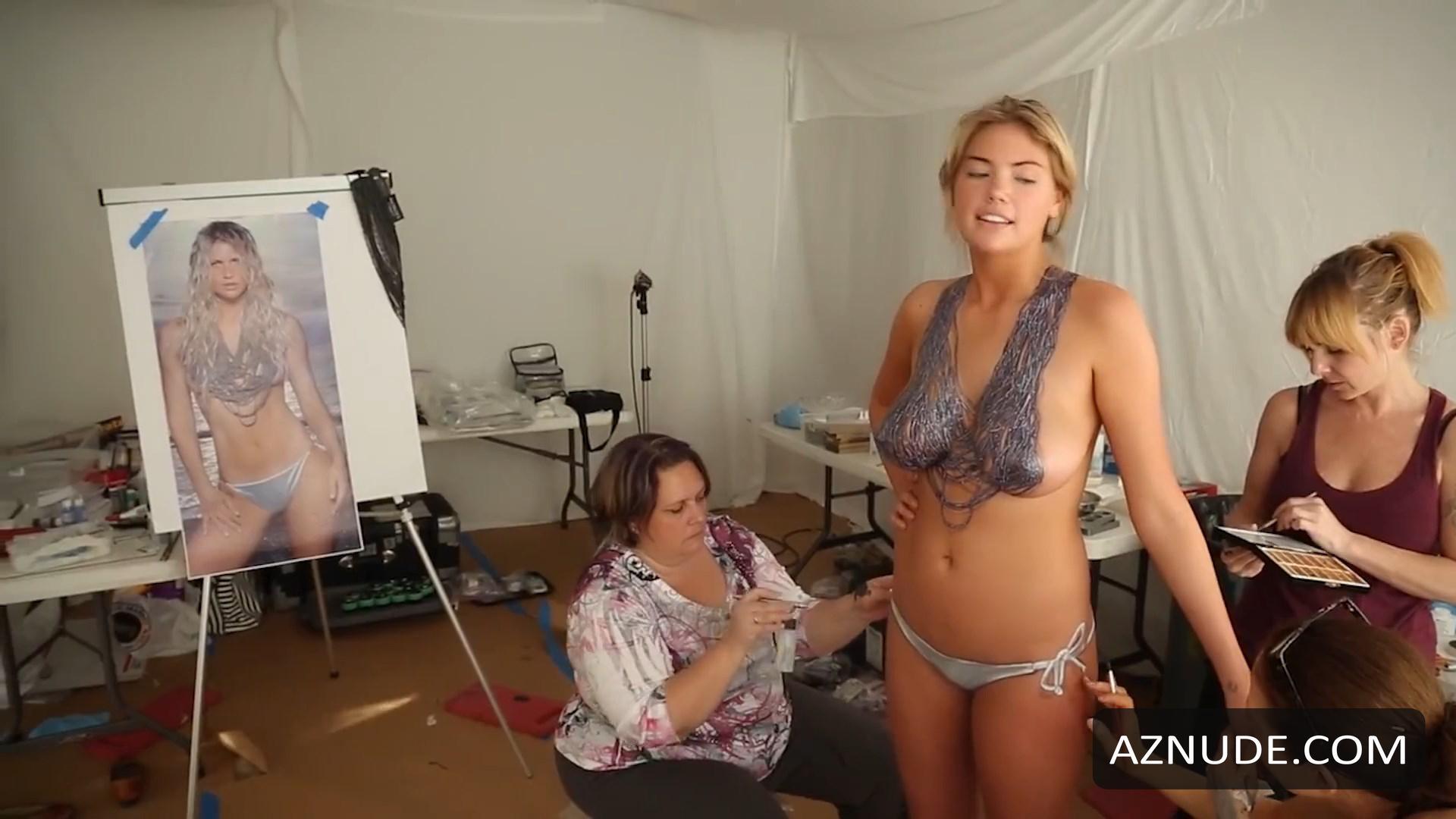 Upton paint swimsuit body kate