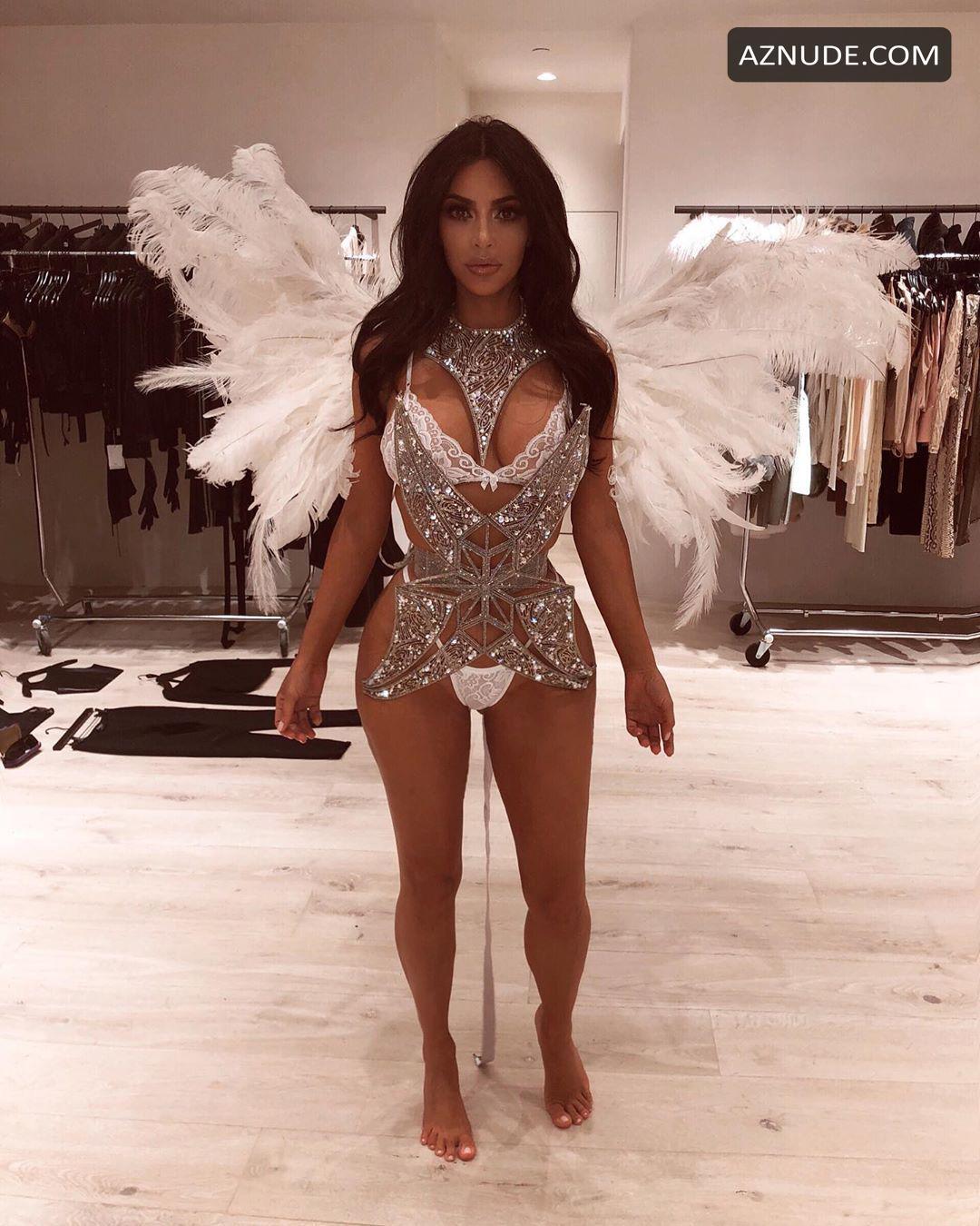 Kim Kardashian Sexy Photos In January 2019 - Aznude-8839