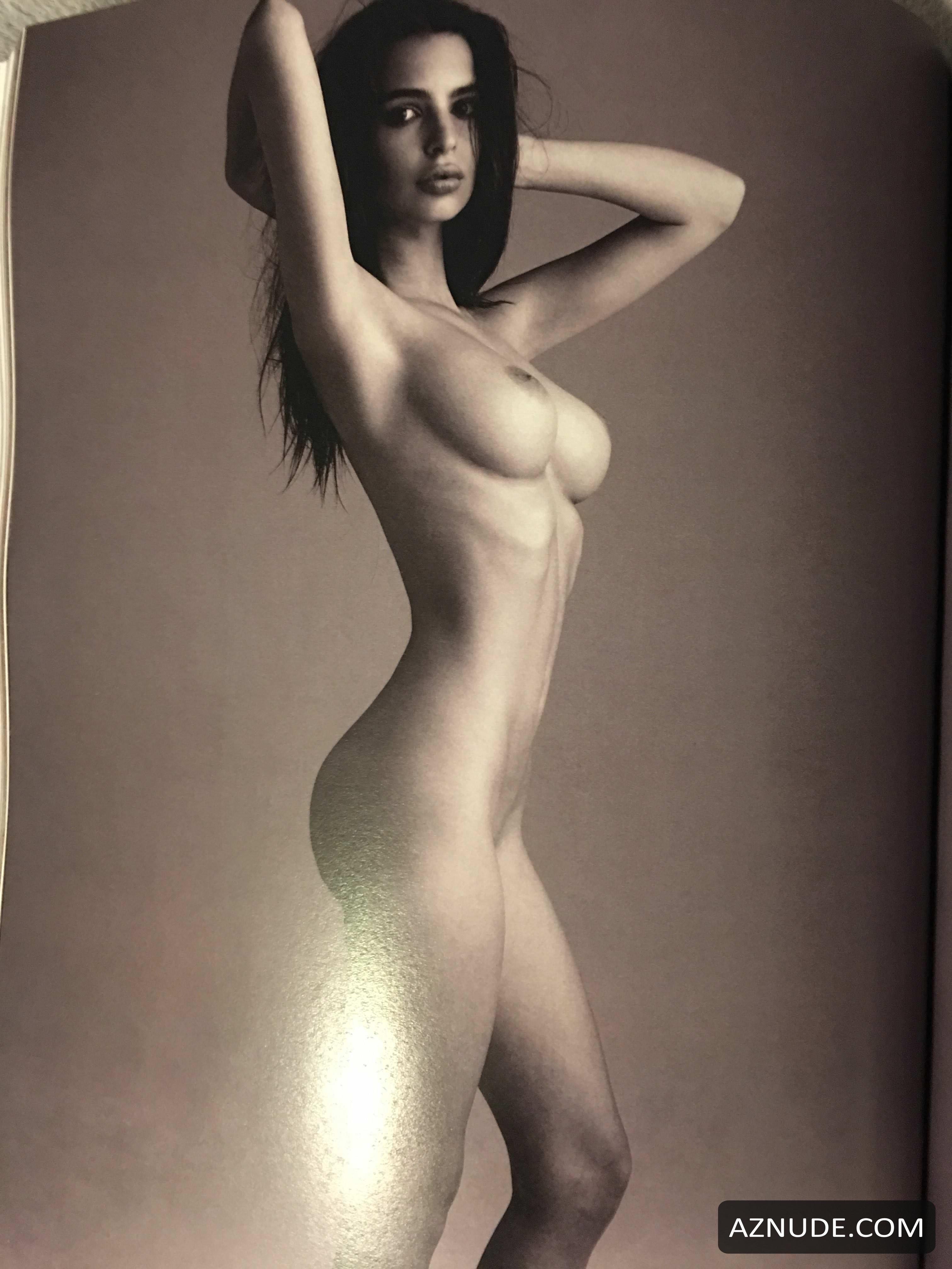Emily Ratajkowski Naked By Steve Shaw From Treats Magazine -6279