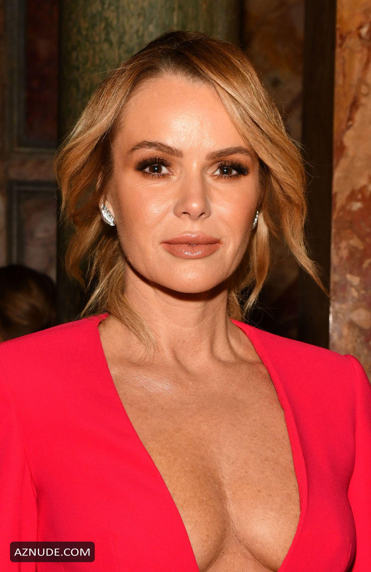 Amanda Holden Braless At The Global Gift Gala At Kimpton -8662