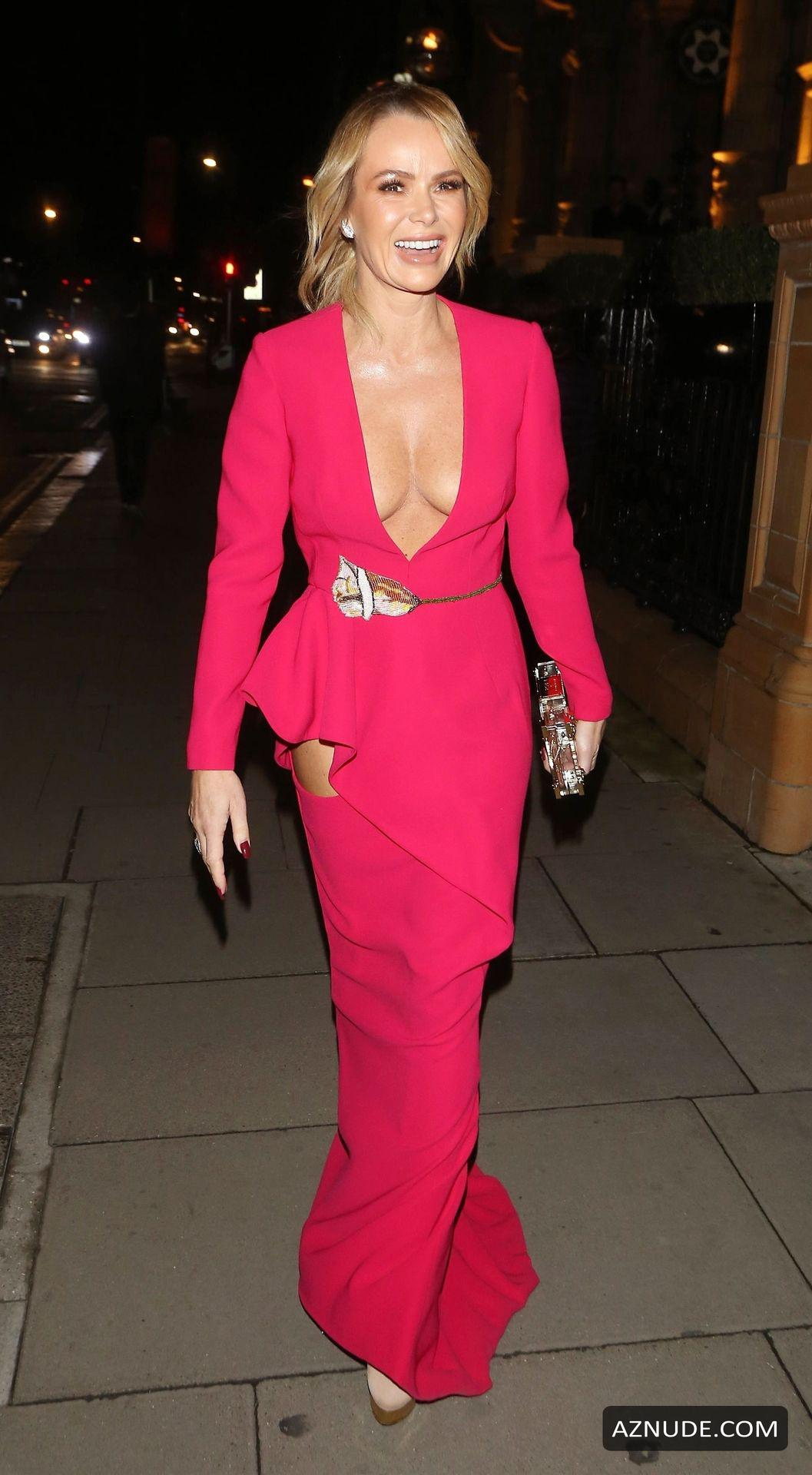 Amanda Holden Braless At The Global Gift Gala At Kimpton -3235