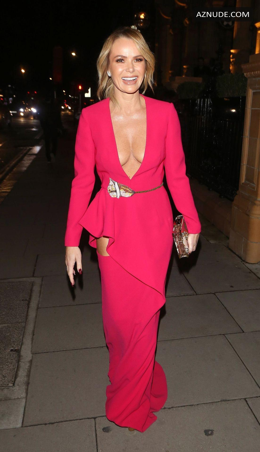 Amanda Holden Braless At The Global Gift Gala At Kimpton -3576