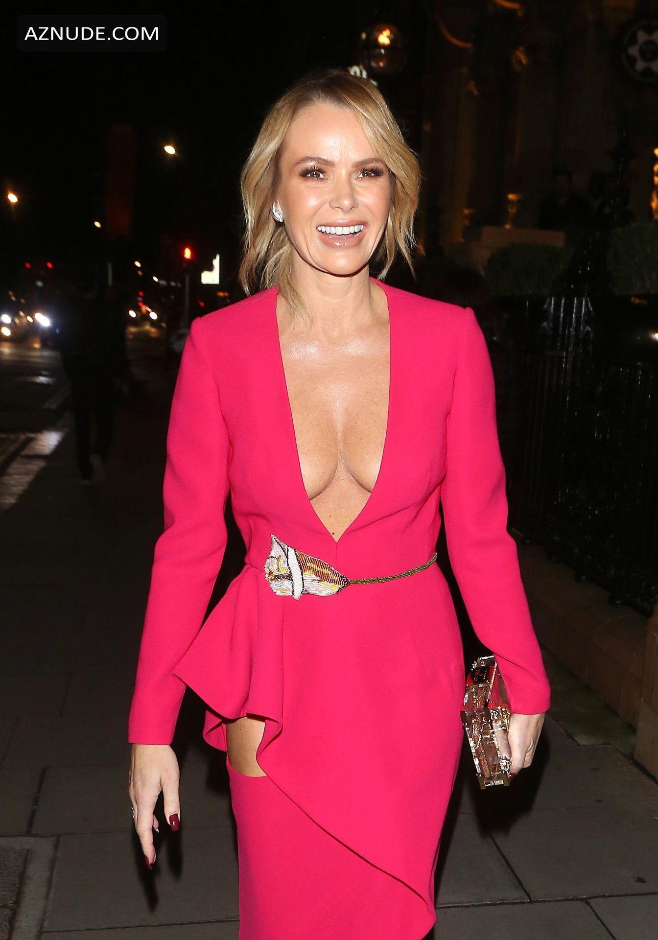 Amanda Holden Braless At The Global Gift Gala At Kimpton -1340