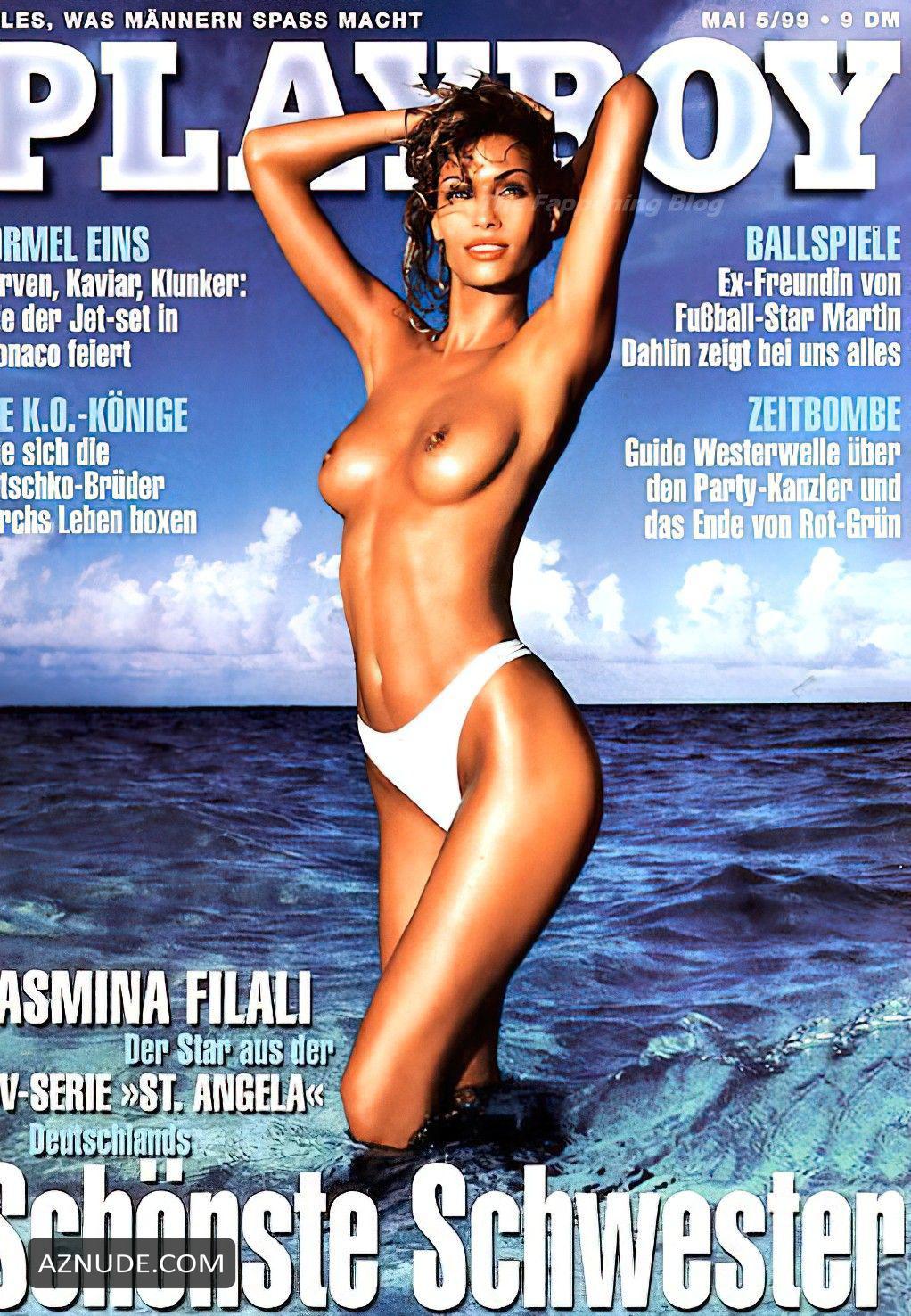Filali nackt Yasmina  Deutsche Stars